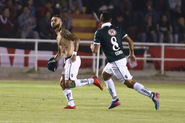 Santa Fe por la ventaja ante Santiago Wanderers
