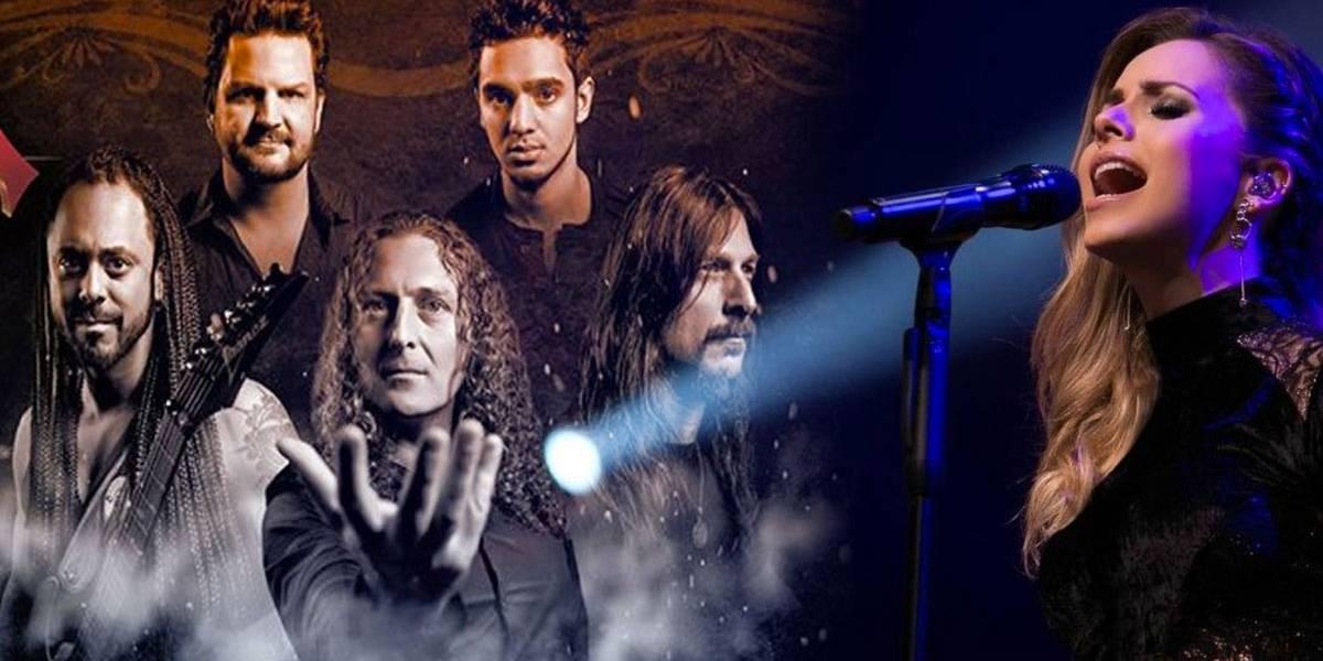 Sandy grava participação em álbum de banda de heavy metal Angra