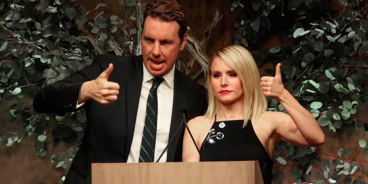 Kristen Bell revela ter amamentado seu marido