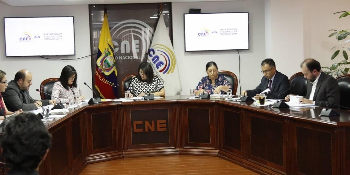 Pleno del CNE se instalará para aprobar resultadosdel escrutinio del Referéndum y Consulta Popular