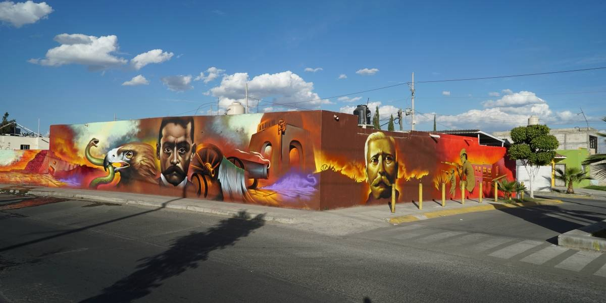 Inauguran macro-intervención de arte urbano más grande del mundo en Tlajomulco