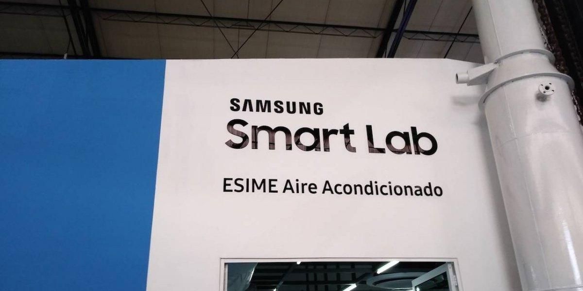 Samsung dona a IPN laboratorio inteligente