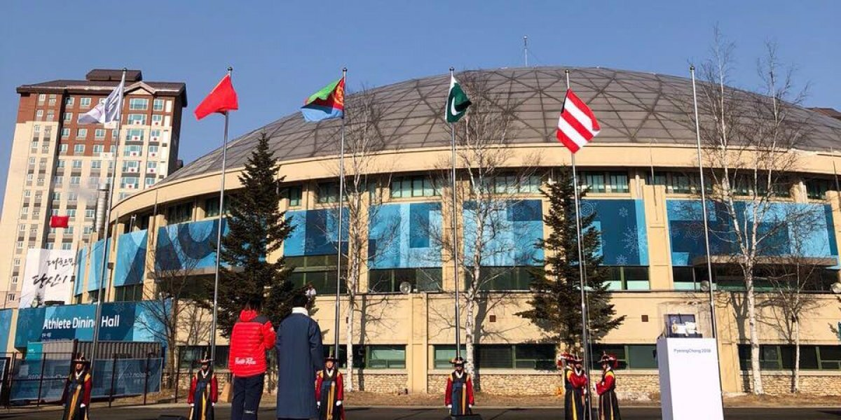 La bandera de Puerto Rico ya ondea en PyeongChang 2018