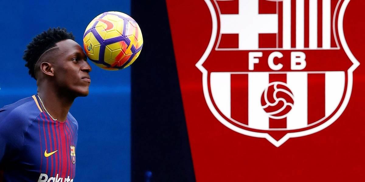 Uno de los más grandes ídolos del Barcelona apoya a Yerry Mina