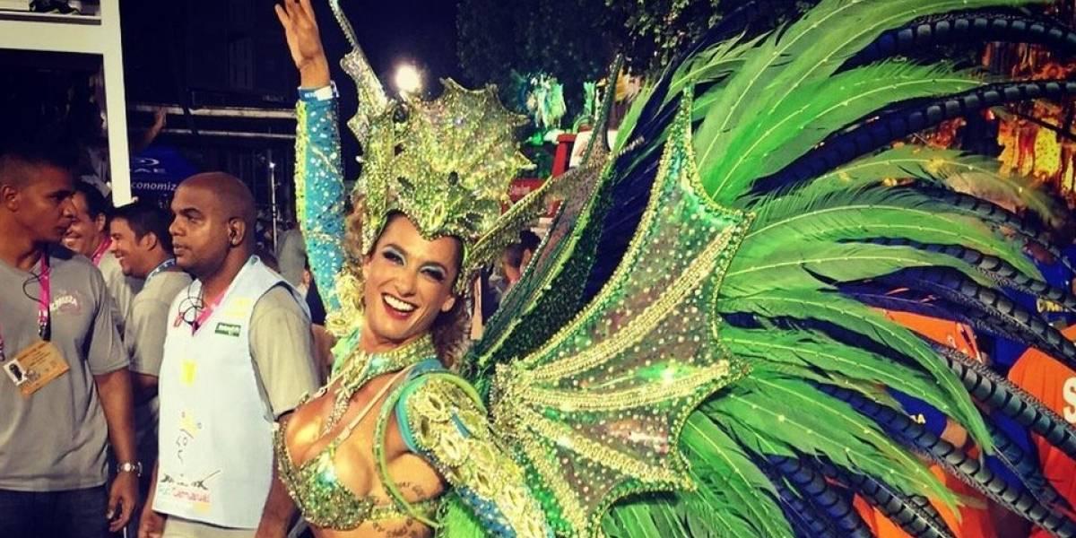 Após ensinar inglês em troca de aulas de samba, britânica se consagra musa de escola no Rio