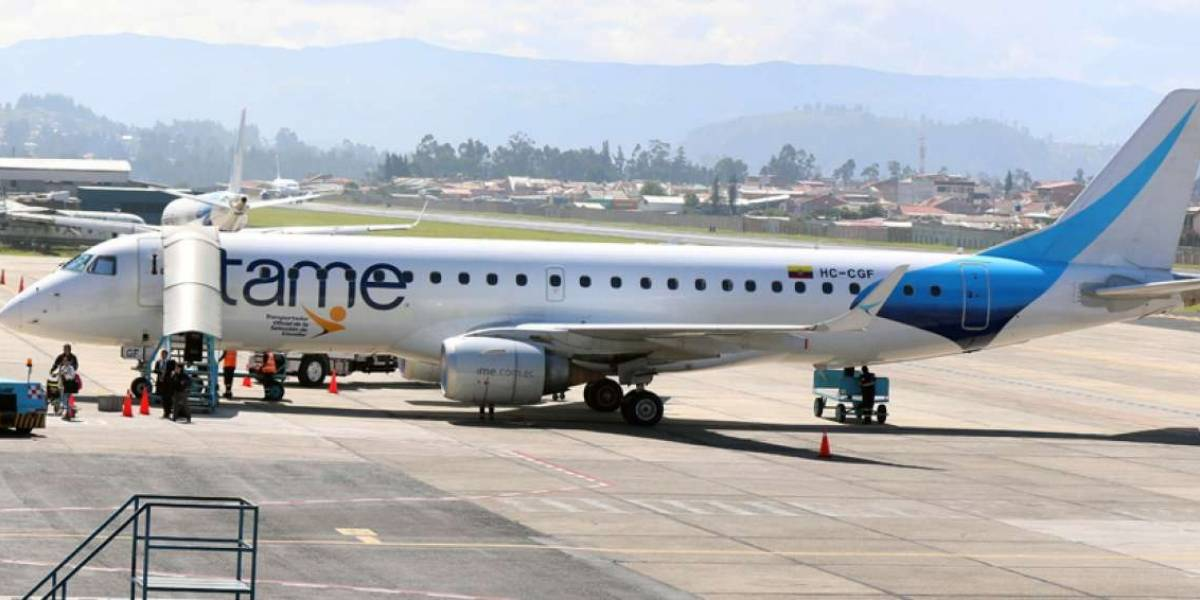 Tame canceló vuelos a Venezuela por 'importantes' pérdidas económicas