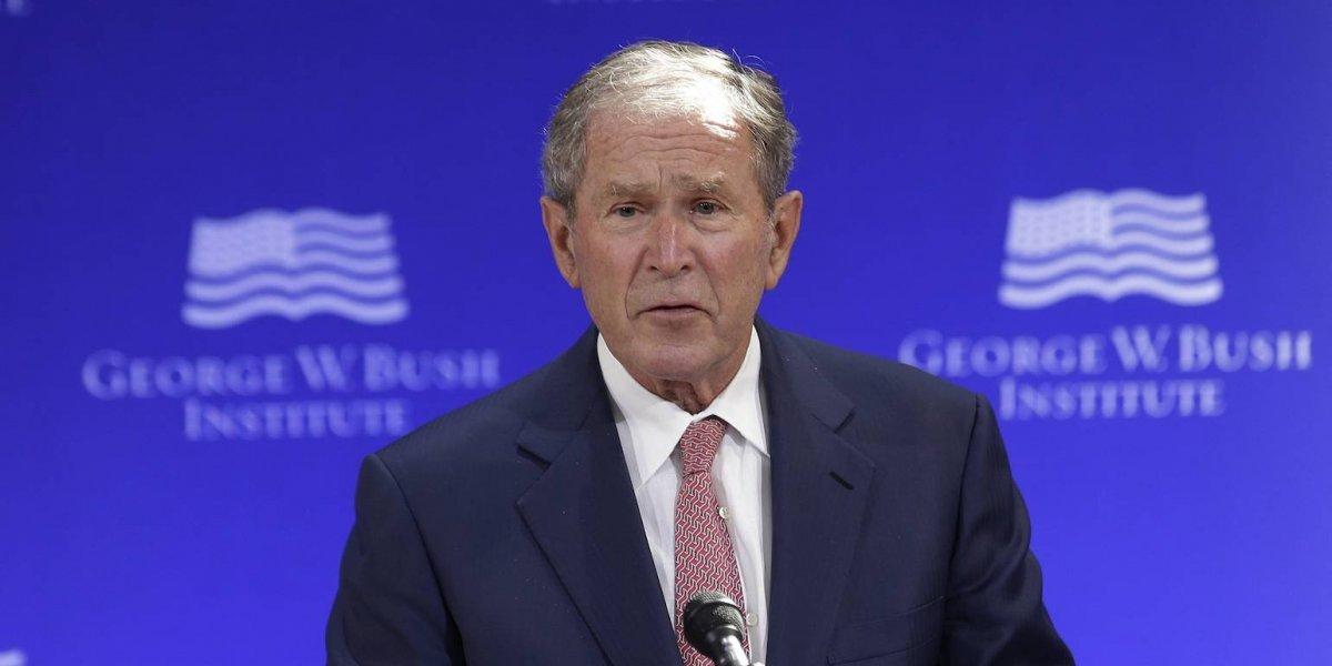 Hay evidencia clara de injerencia rusa en las elecciones: George W. Bush