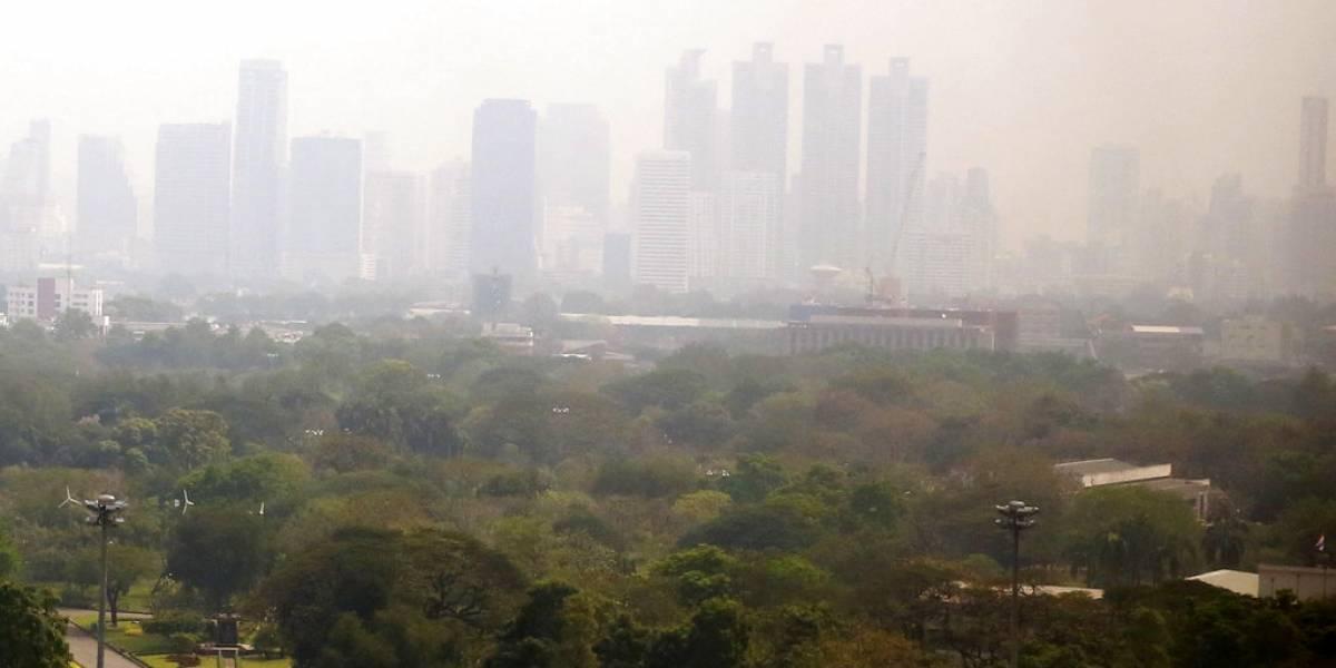 Emergencia ambiental: Nube de partículas contaminantes envolvió a la capital de Tailandia