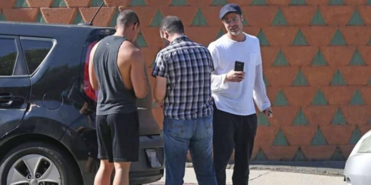 Brad Pitt provocó un choque en Los Ángeles