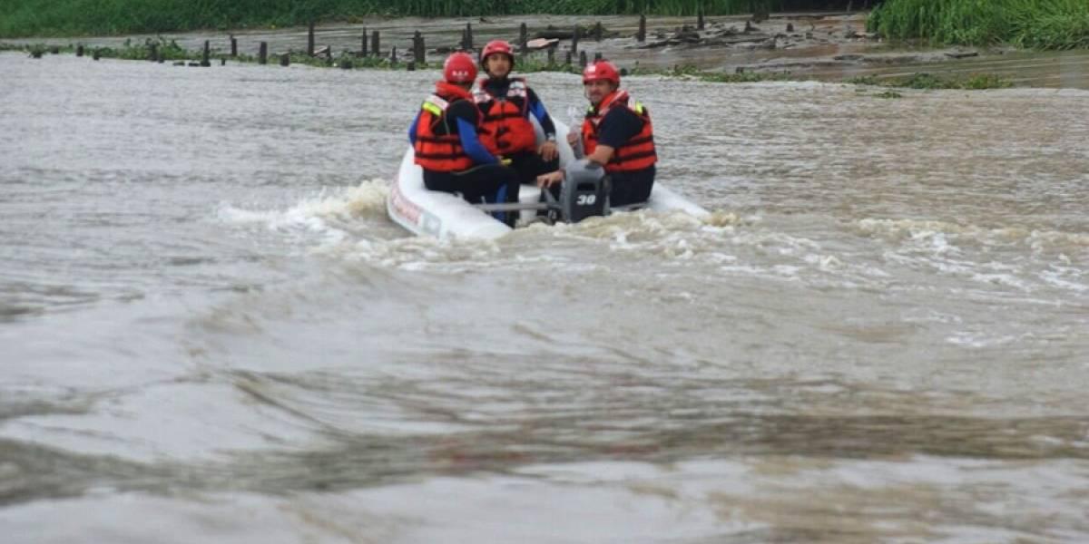 Continúa la búsqueda de una persona desaparecida en el Río Guayas