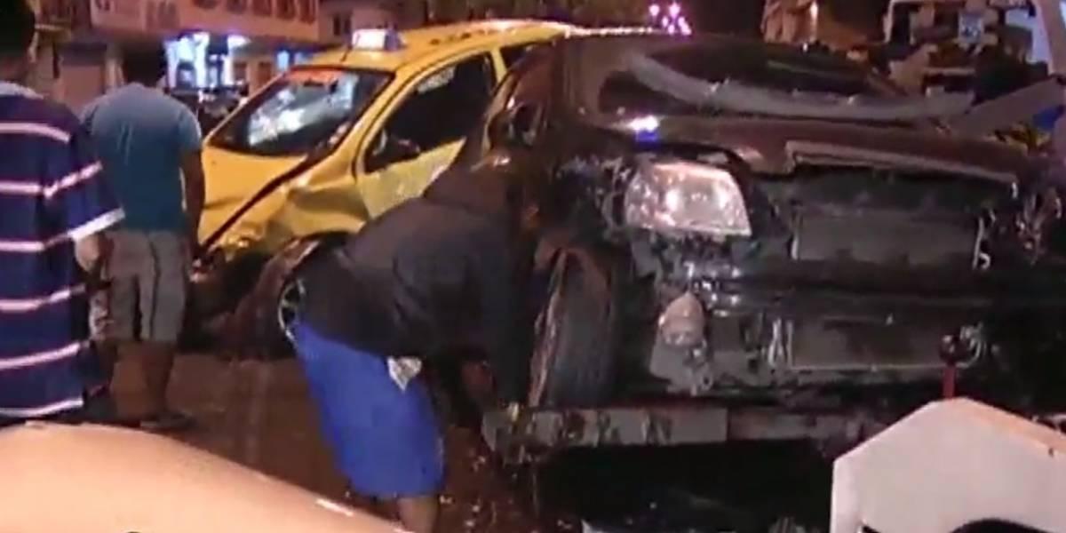 Triple choque deja 3 heridos al suroeste de Guayaquil