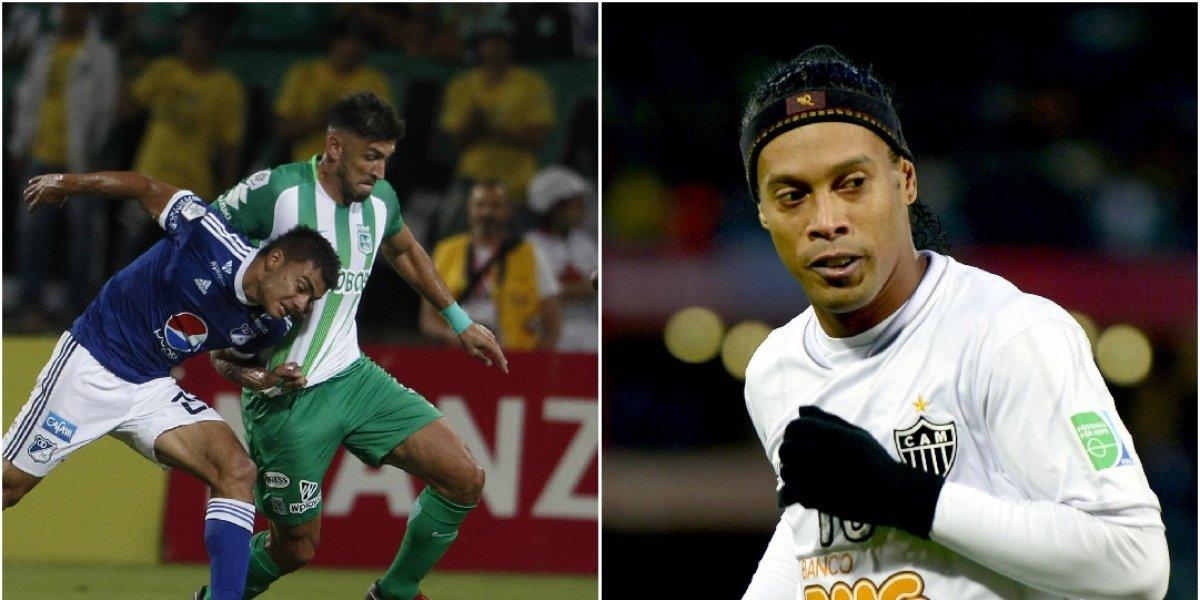 La patada de Braghieri a Ronaldinho, que recordó a la de Ayron Del Valle