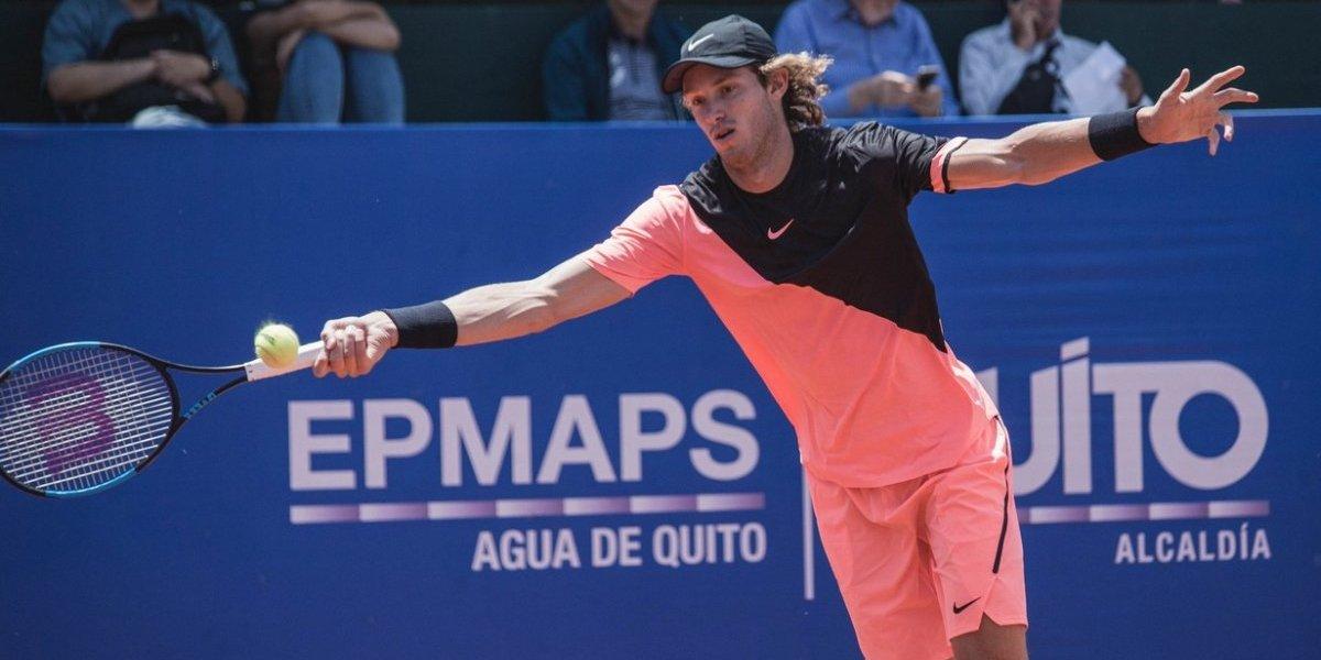 Nicolás Jarry dejó pasar de largo la oportunidad y se terminó su sueño en el ATP de Quito
