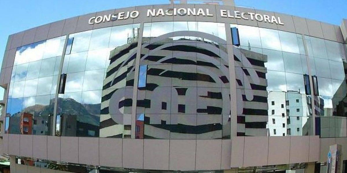 CNE terminó escrutinio de la consulta, el sí gana en las siete preguntas