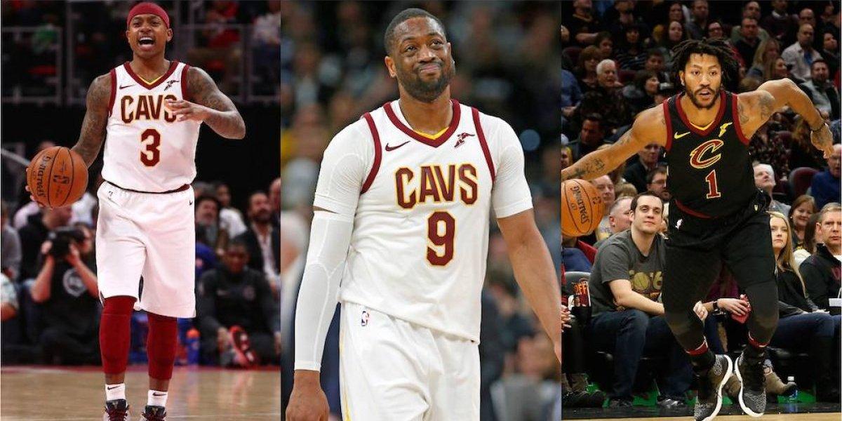 Cavaliers se renuevan y se deshacen de Isaiah Thomas, Dwyane Wade y Derrick Rose