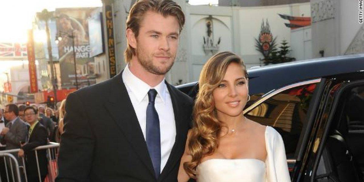 Chris Hemsworth reveló que fue incómodo grabar escenas de sexo con su esposa