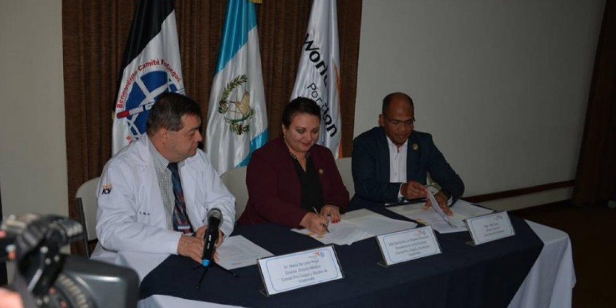 Alianza busca prevenir y atender ceguera y sordera de niños y jóvenes en Guatemala