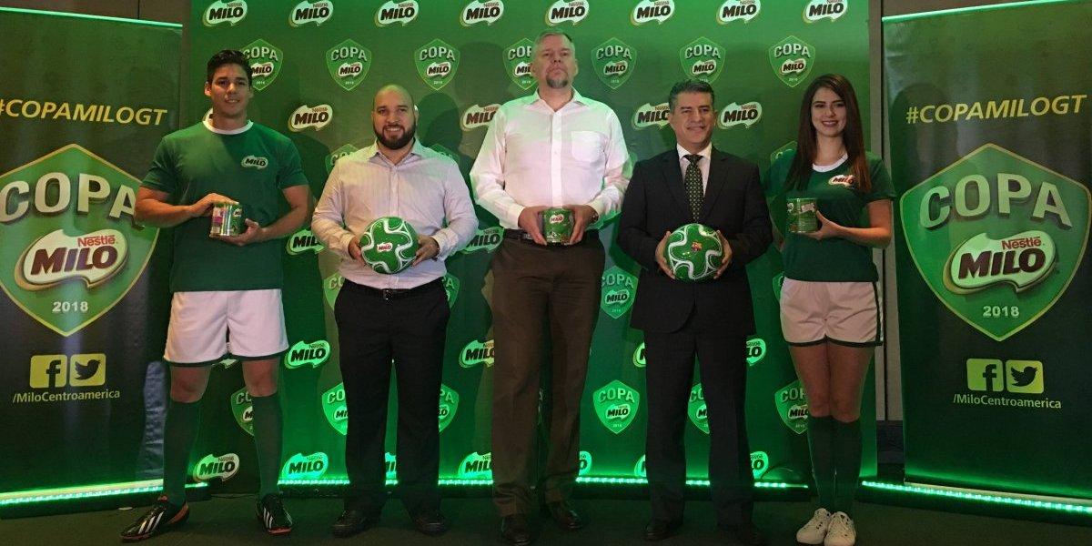 Copa MILO premiará a los mejores equipos de futbol de niños y niñas en Guatemala