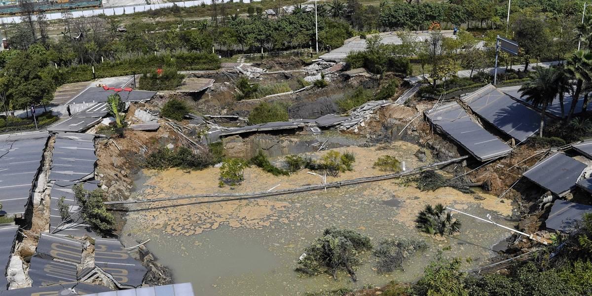 Desabamento em obra de metrô da China deixa 8 mortos