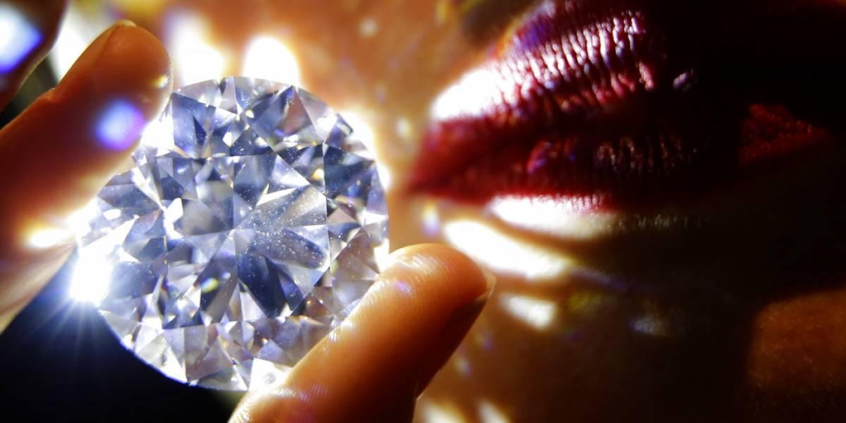 """Esperan subastar diamante """"perfecto"""" en más de US$33 millones"""