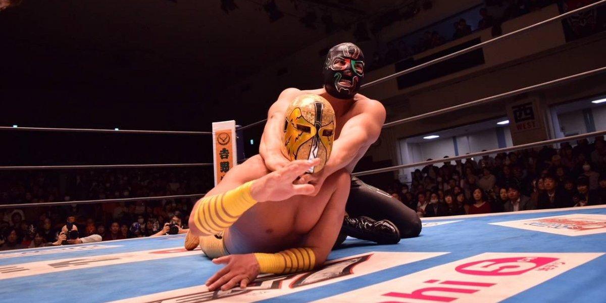 Cuatrero y Ángel de Oro lucharan juntos antes de apostar sus máscaras
