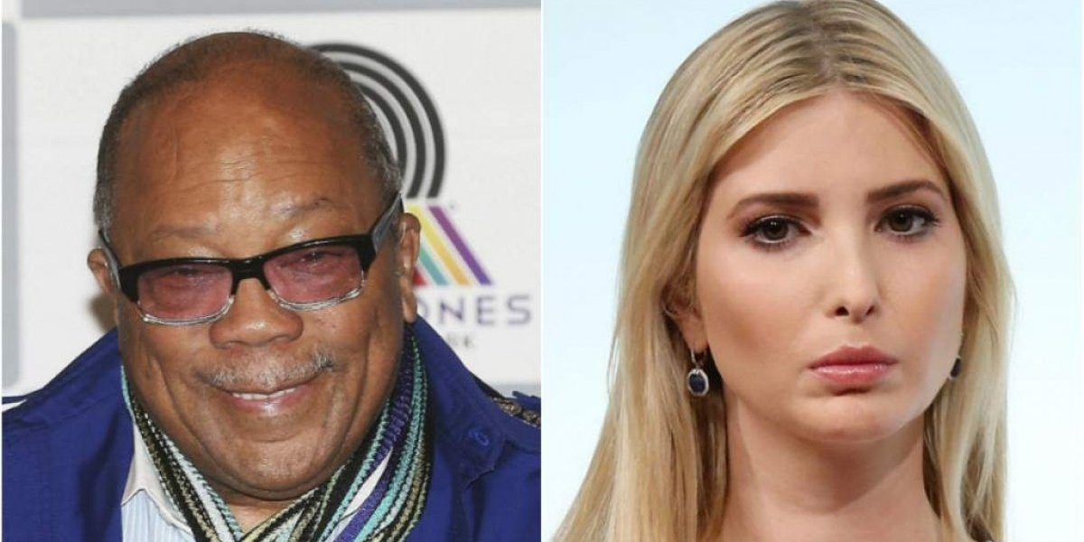 Quincy Jones revela que saiu com Ivanka Trump