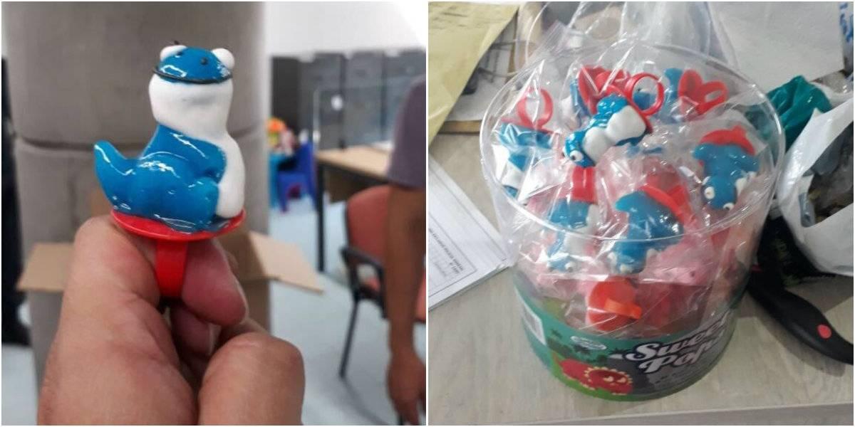 Detienen a 31 narcomenudistas que vendían dulces con LSD a niños