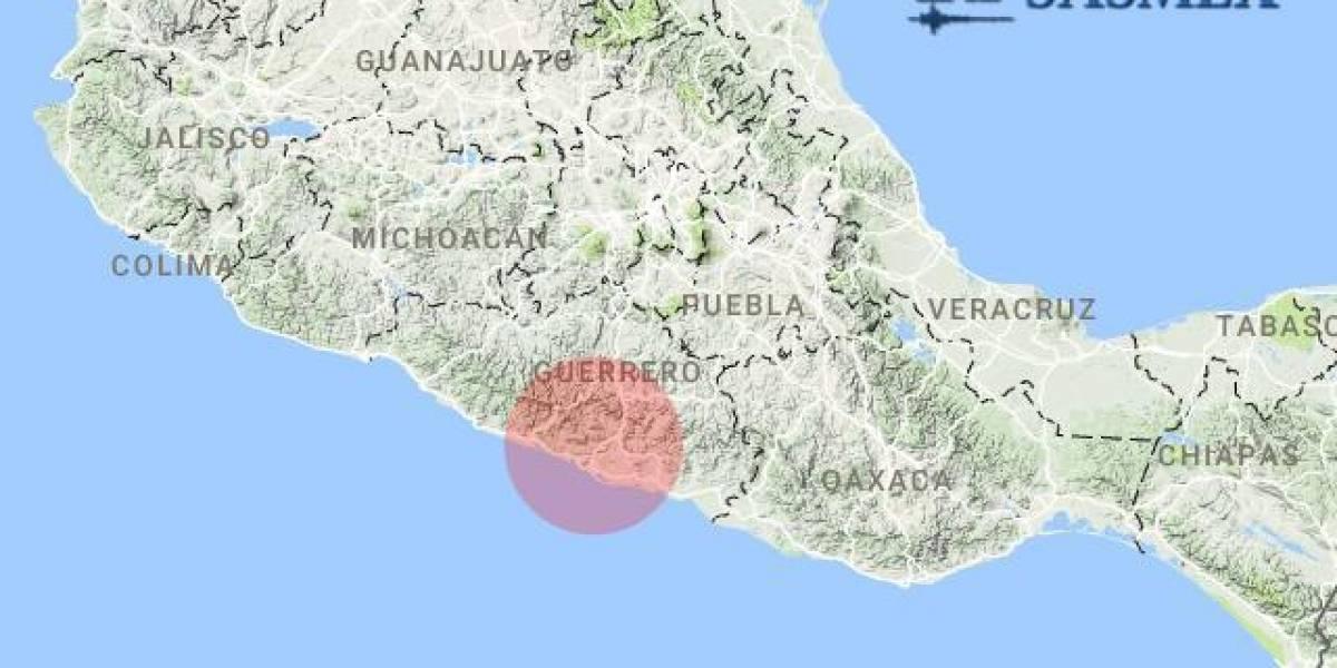 Se registra sismo magnitud 4.3 con epicentro en Acapulco, Guerrero