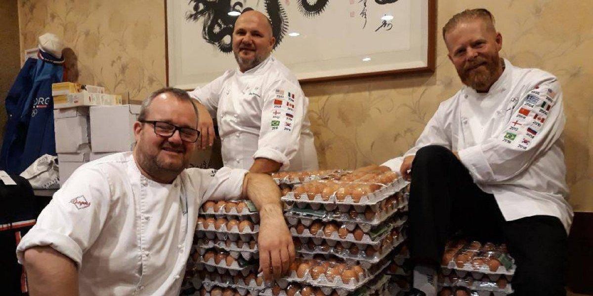 Delegación noruega en los Juegos Olímpicos recibe 15.000 huevos frescos por error