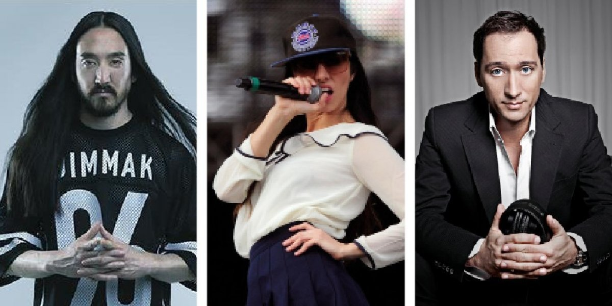 EMF 2018: Steve Aoki, Mala Rodríguez, Paul Van Dyk y otros estarán en el esperado festival