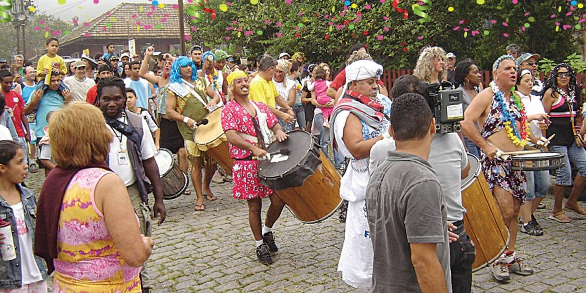 Em Santo André, a folia é na Vila de Paranapiacaba!