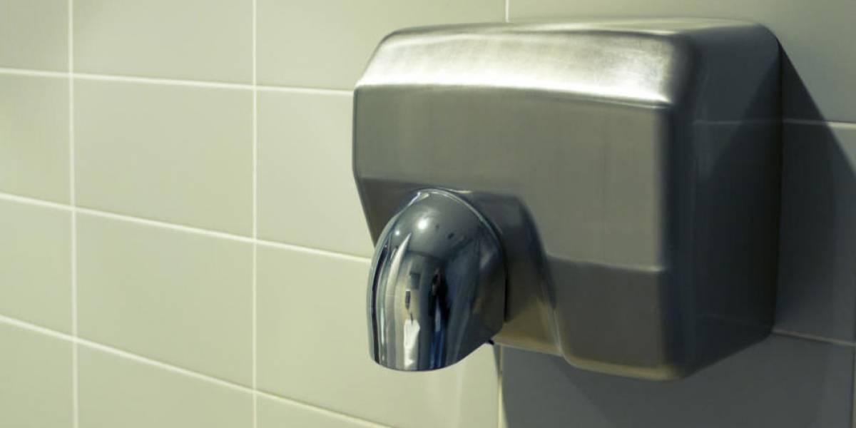 Cuando veas esto, jamás querrás utilizar un secador para manos