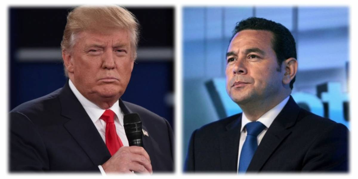 Presidentes de Guatemala y Estados Unidos se reúnen en Washington