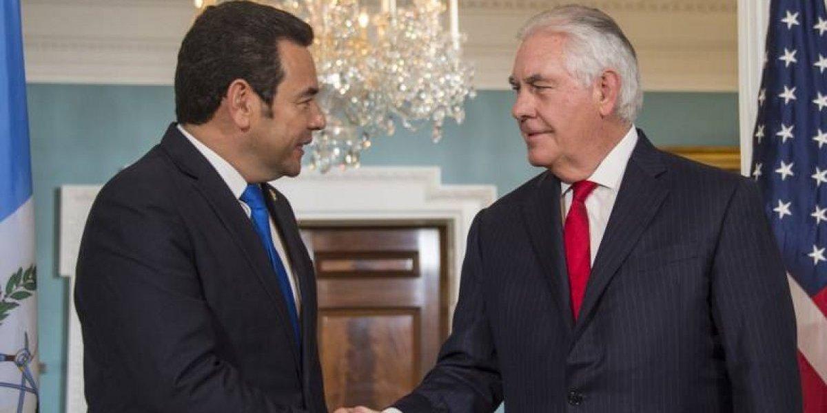 Declaración de portavoz del Departamento de Estado luego de reunión entre Morales y Rex Tillerson