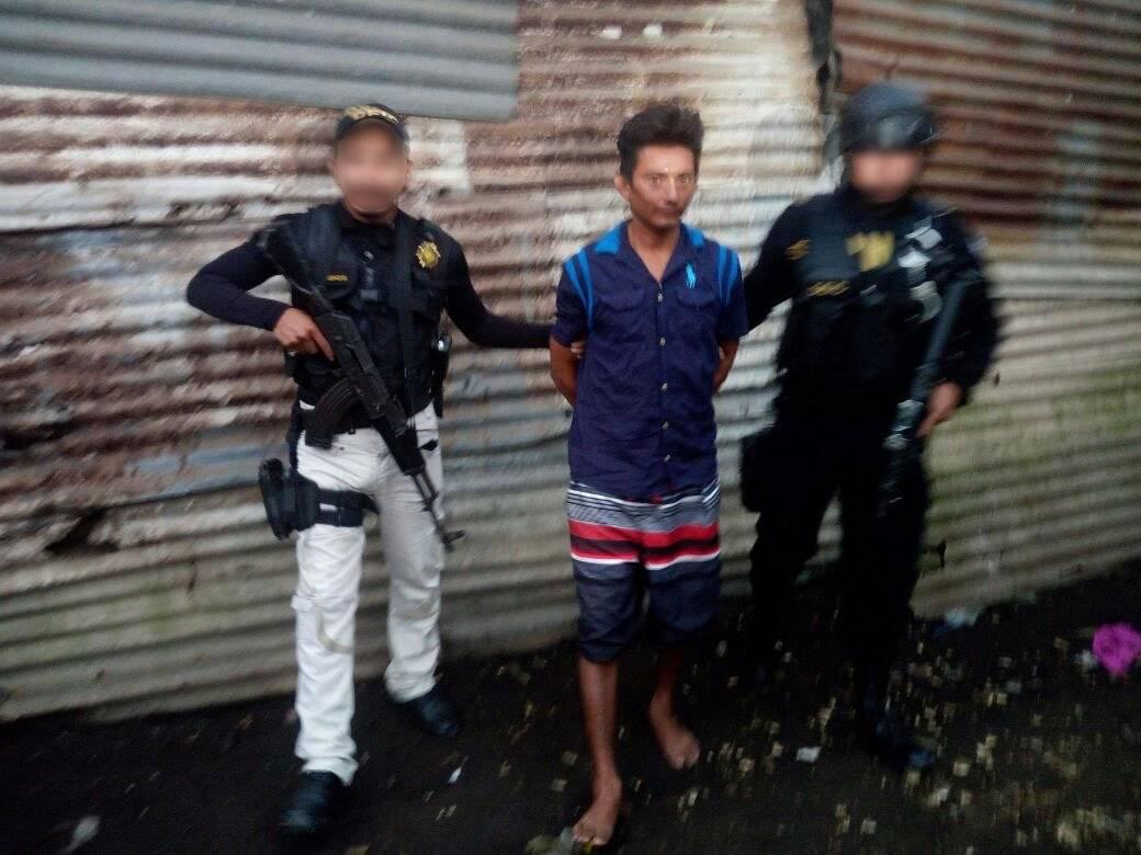 capturan a presunto asesino de agentes de PNC