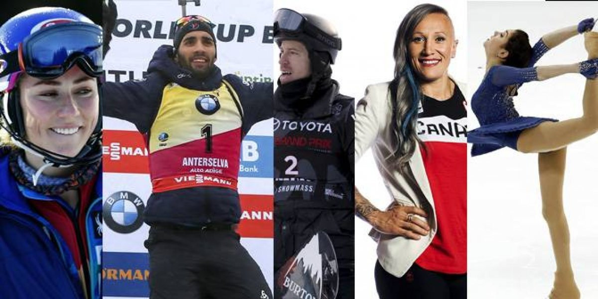 5 atletas a seguir en las Olimpiadas de Invierno 2018