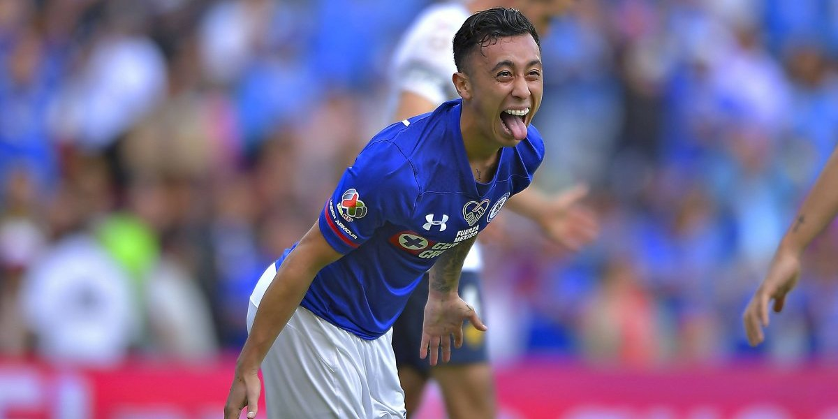 Martín Rodríguez anotó un golazo en triunfo del Cruz Azul en la Copa MX