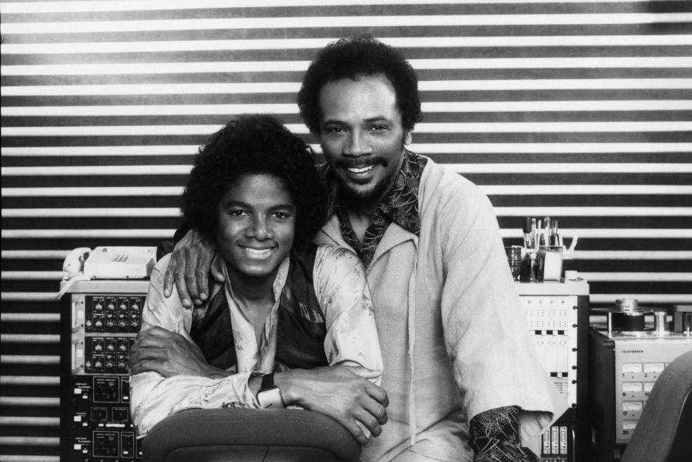 Quincy Jones y Michael Jackson