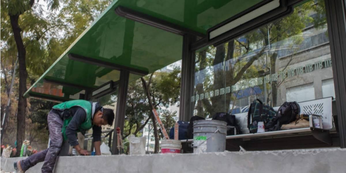 Reforma estrena más publicidad antes que nuevo transporte