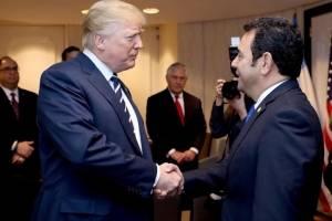 reunión de Jimmy Morales y Donald Trump en Estados Unidos
