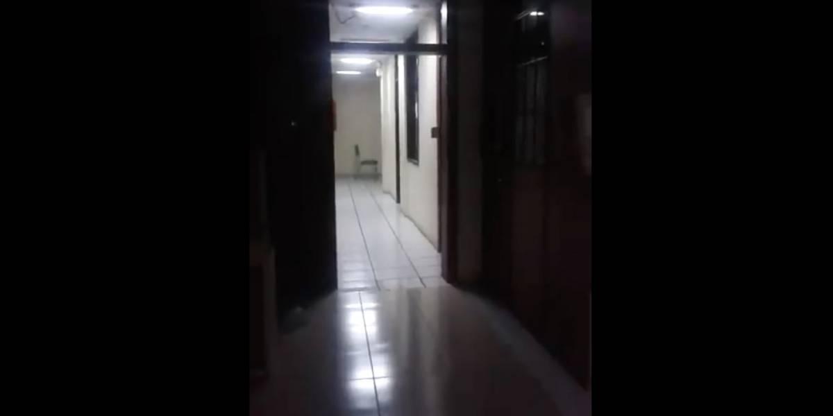 Video de supuesto fantasma en entidad pública de Ibarra circula en redes