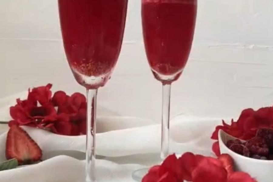 [VIDEO] Cómo hacer mimosas de frambuesa para San Valentín