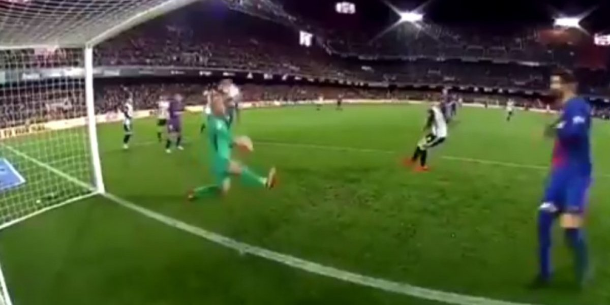 VIDEO: Milagrosa atajada del portero del Barça en la Copa del Rey