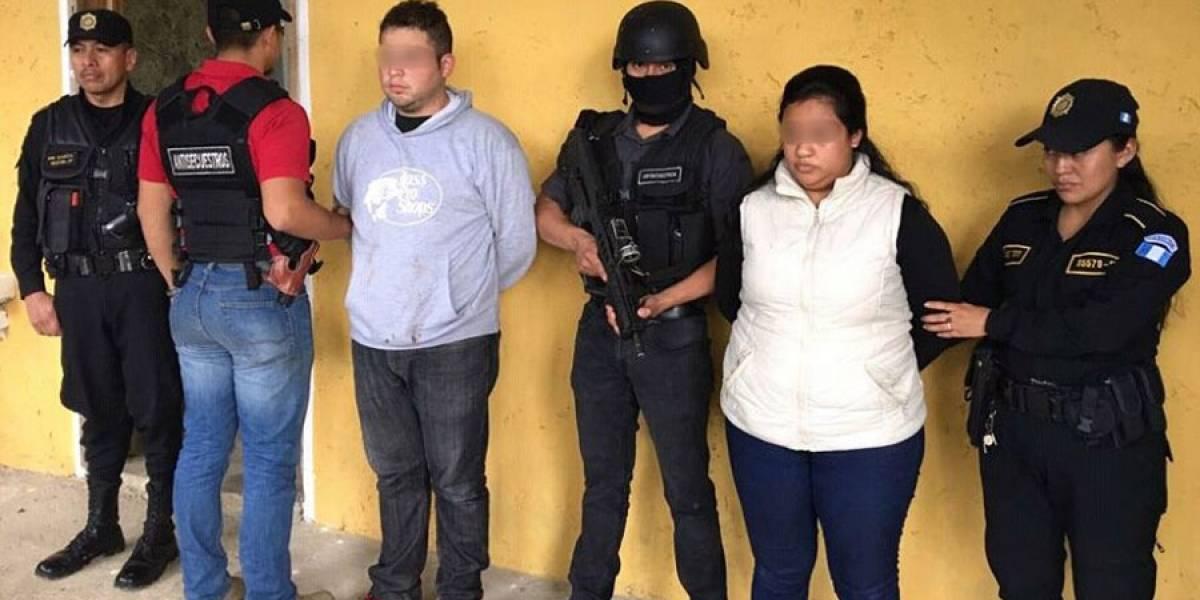 Capturados dos presuntos secuestradores de dos niñas en Cobán