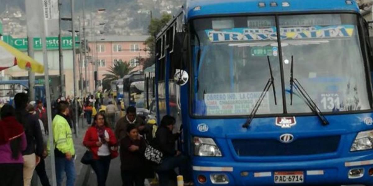 Tarifas de transporte público en Quito se mantendrán hasta por 18 meses más
