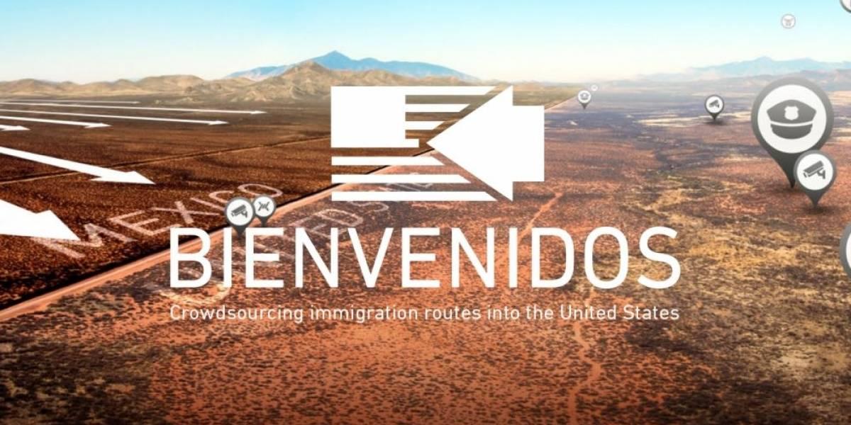 Aplicación móvil promete ayudar a indocumentados a cruzar frontera de EE.UU.