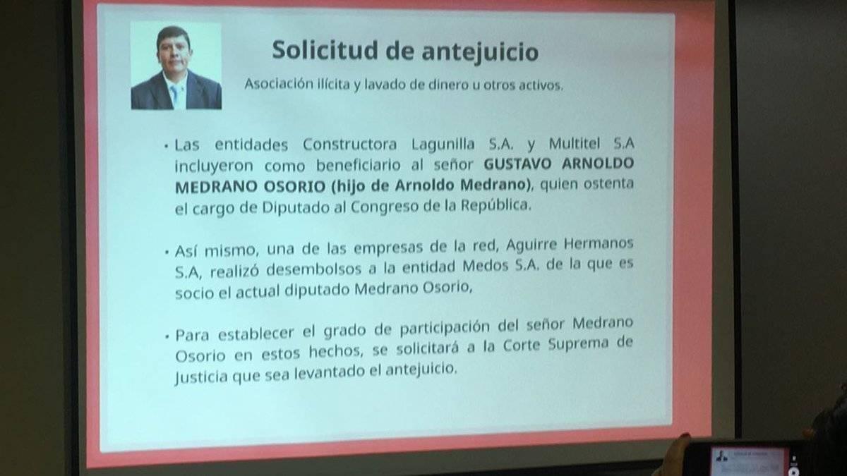 antejuicio diputado Gustavo Medrano