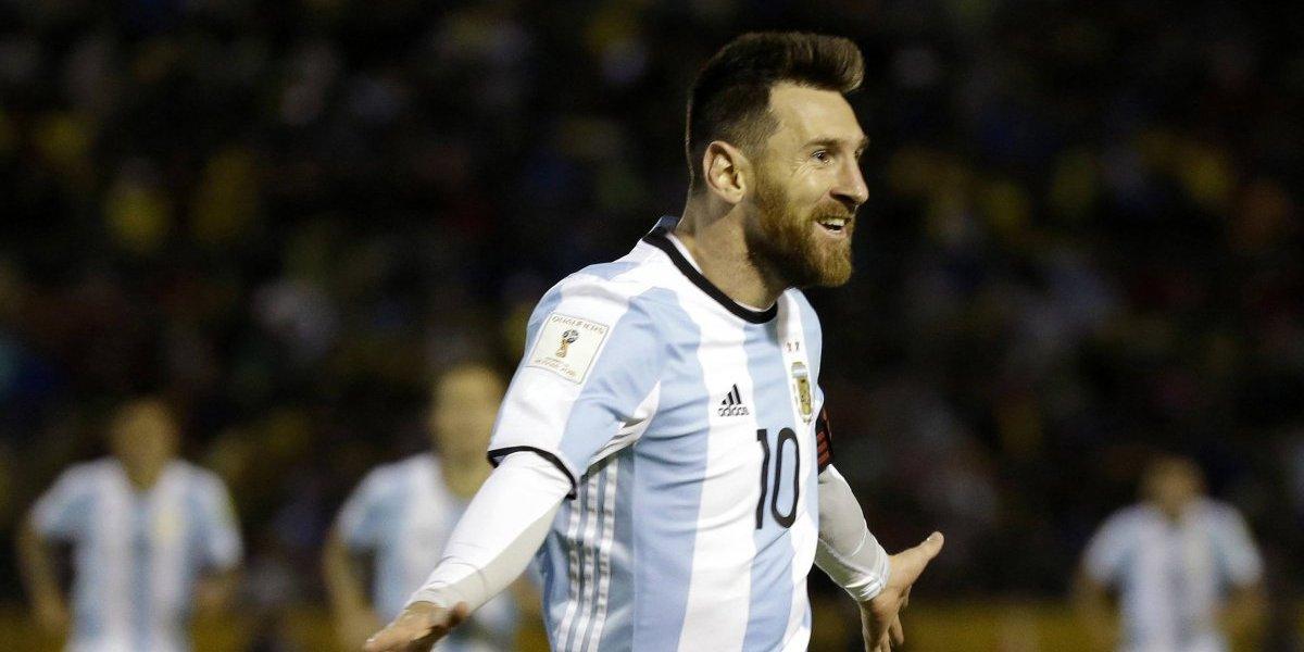 Lionel Messi se convirtió en la imagen de banco privado más grande de Rusia