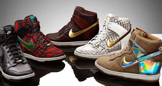 separation shoes 29c50 7bfff Tendencia hoy  Nike Dink Sky Hi, zapatos para pasos de altura ...