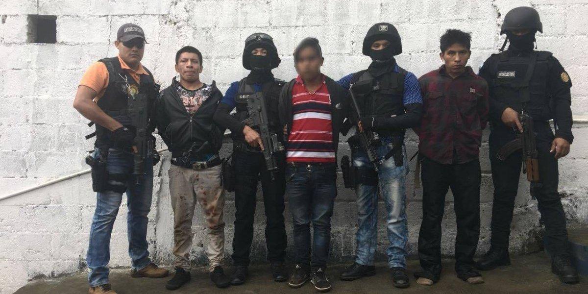 """Desarticulan banda de secuestradores """"Escorpión"""""""